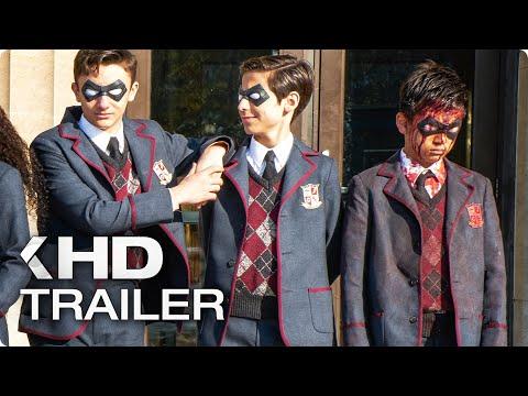 THE UMBRELLA ACADEMY Trailer (2019) Netflix