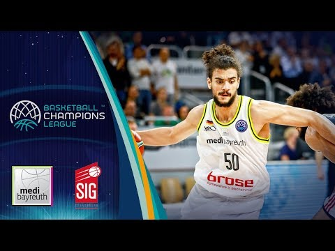 medi Bayreuth v SIG Strasbourg - Full Game - Basketball Champions League