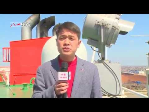 81 TV - China Semi-Submerged Heavy Military Transport Ship Declared Operational [480p]