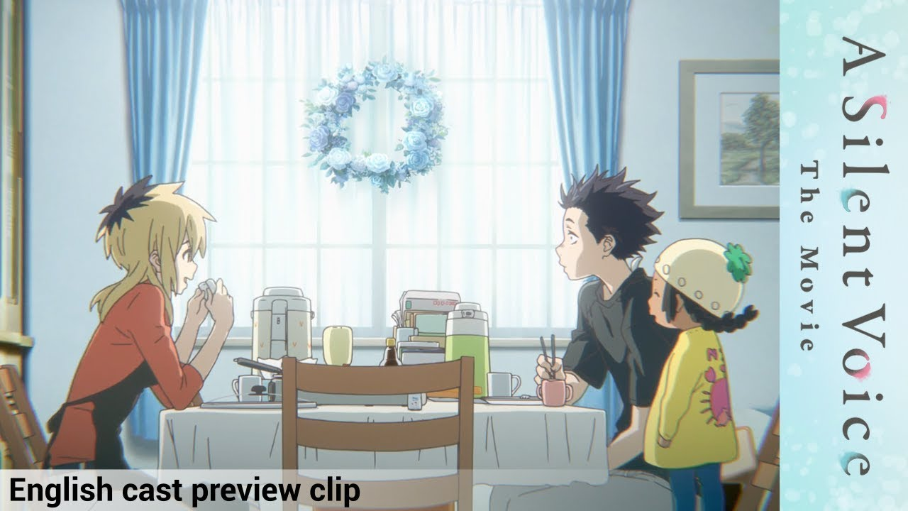 a silent voice english cast preview official clip 1 youtube