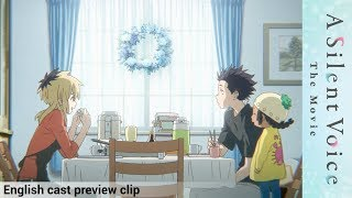 A Silent Voice (English cast preview) - Official Clip #1