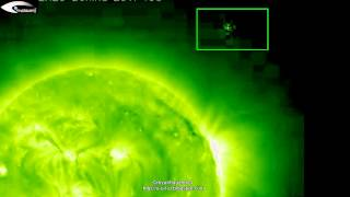 UFOs and anomalies near the Sun - Review for July 2, 2012.