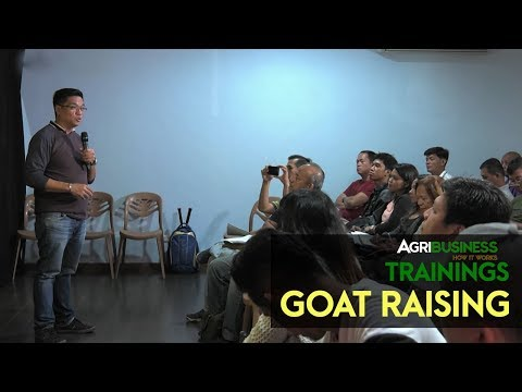 The opportunities in goat raising | Agribusiness How It Works Training