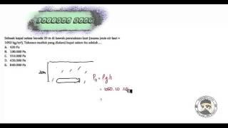 Fluida Statis Latihan Soal 1