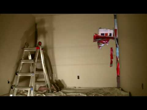 Painting time lapse with chroma key youtube for Chroma mural paint