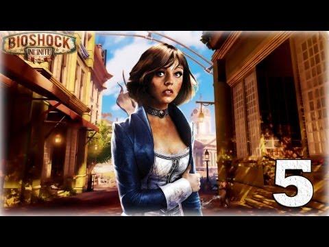 Смотреть прохождение игры Bioshock Infinite. Серия 5 - Элизабет. [Art let's play]