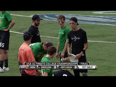 North Carolina v Oregon (2015 College Championships - Men's Final)