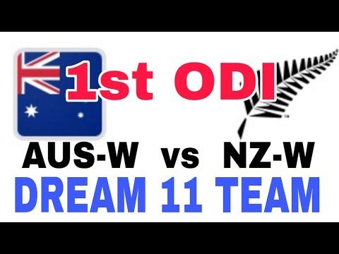 AUS-W vs NZ-W 1st ODI| Dream 11 Team| Playing 11| Team News