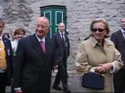 Belgium King Albert II and Queen Paola State Visit Estonia