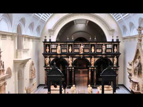 Victoria &Albert Museum visit 2 HEREFORD SCREEN AND METALWORK