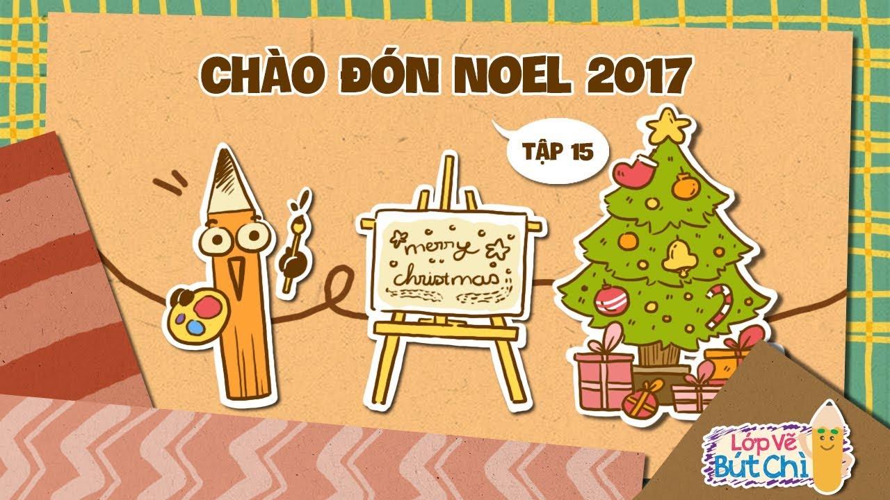 Vẽ Chào Đón Noel 2017 | Lớp Vẽ Bút Chì | Hi Pencil Studio