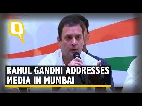 Mahagatbandhan is a Sentiment Against Modi: Rahul Gandhi