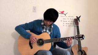 Sungmin Lee: Big Bang - 'Blue' - Acoustic Fingerstyle Guitar Cover