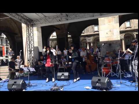 Milano, Break in Jazz 2015 in piazza Mercanti