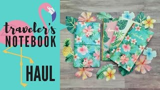 Tropical Life Traveler's Notebook (TN) Haul | Michaels & JoAnn Stores