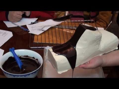 Buche de Noel / Yule Log: P2 - Kem bơ & trang trí gốc cây