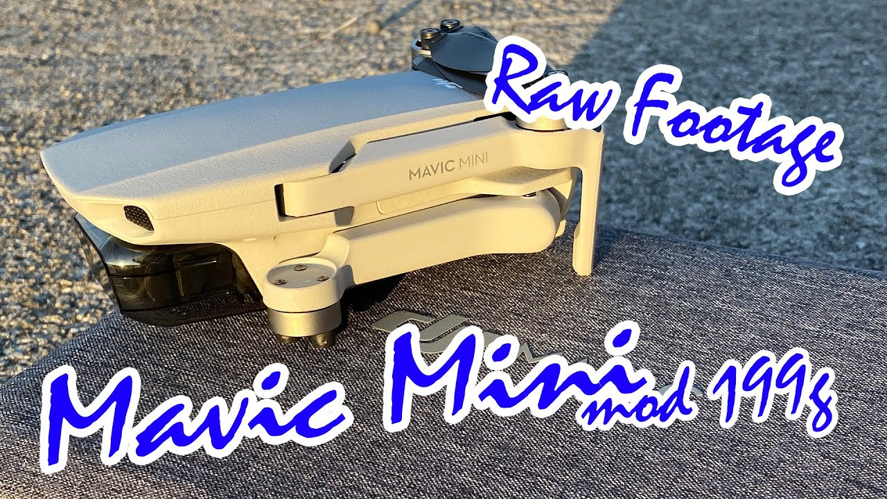 Mavic Mini Raw