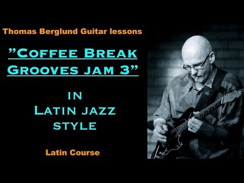 My Coffee Break Grooves Jam #3 in Latin jazz style