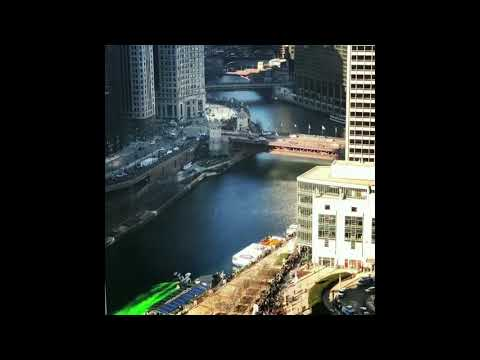 K.C. Wheeler - Timelapse Video of the Chicago River turning Green for St. Patrick's Day