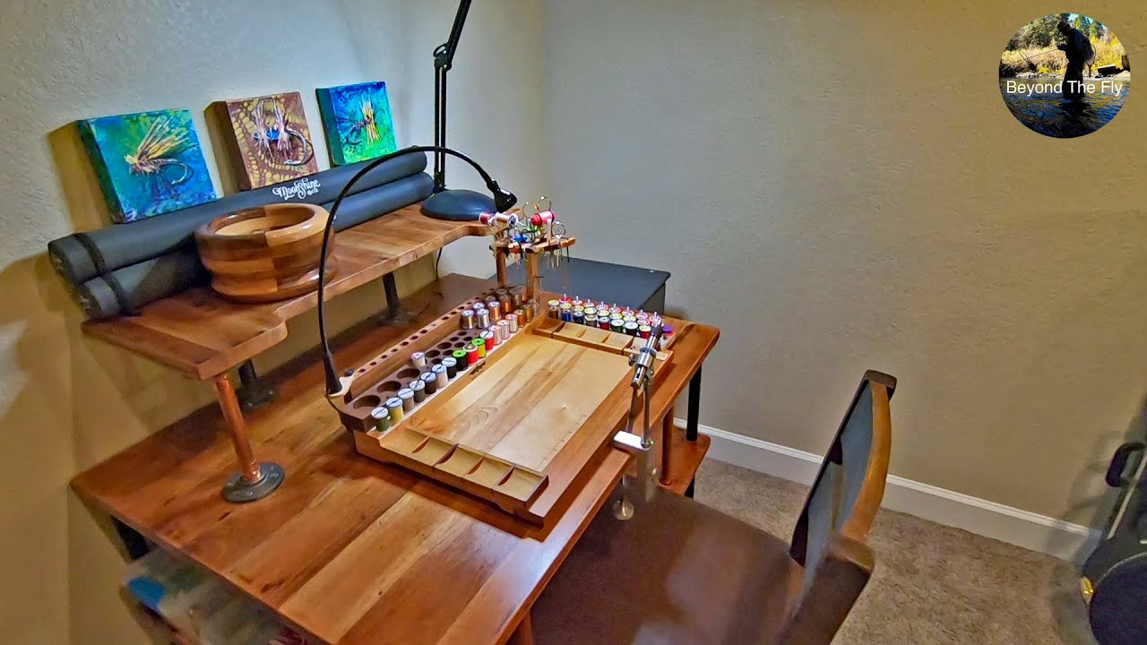 Build Your Own Fly Tying Desk Midcurrent