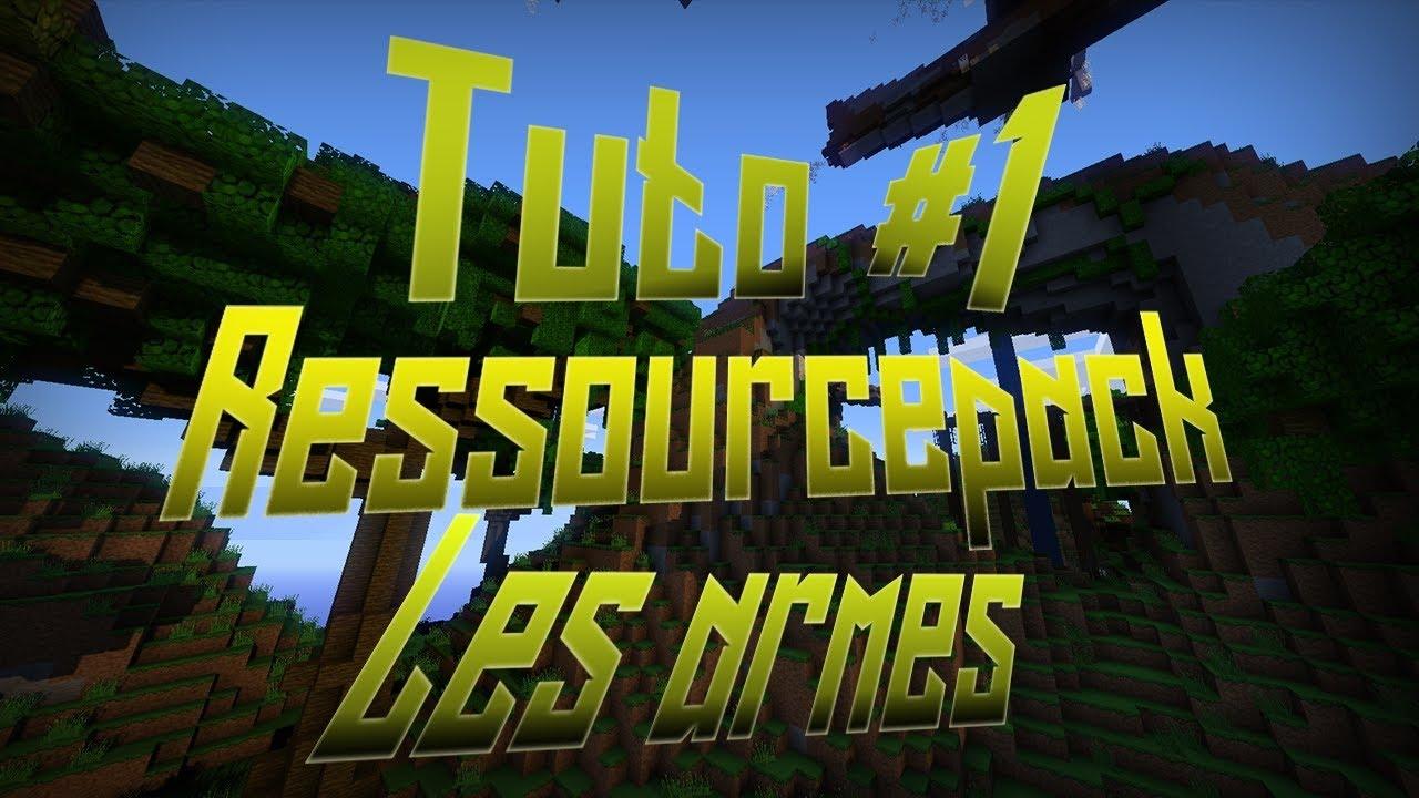 Tuto Creer Un Pack De Texture Minecraft Toutes Versions 2019 2020 Youtube