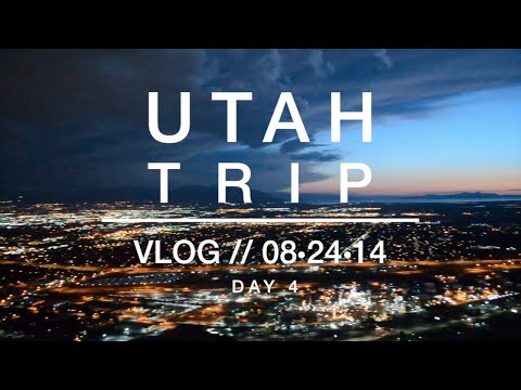 Vlog: Utah Trip Day 4 - In-N-Out & Climbing Ensign Peak