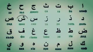 АРАБСКИЙ АЛФАВИТ ВИДЕО УРОК HD