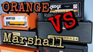 Marshall vs Orange | Amp SHOOTOUT | Gower Jose Marshall | Orange Rockerverb MK III
