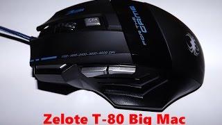 Review mause Zelote t80 Big Mac 5500 Dpi