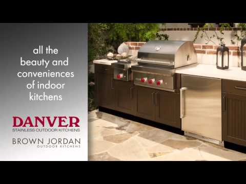 Danver Stainless Outdoor Kitchens / Brown Jordan Outdoor Kitchens
