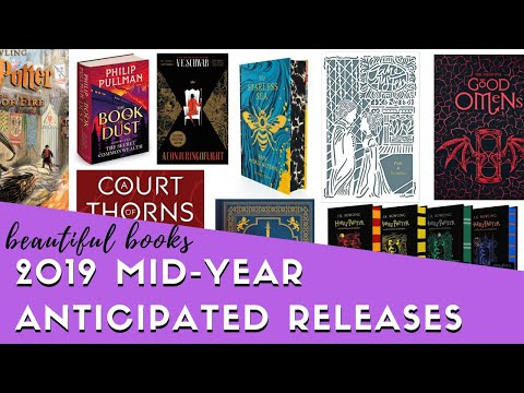 30+ Beautiful Book Preorders | 2019 Mid-Year Roundup