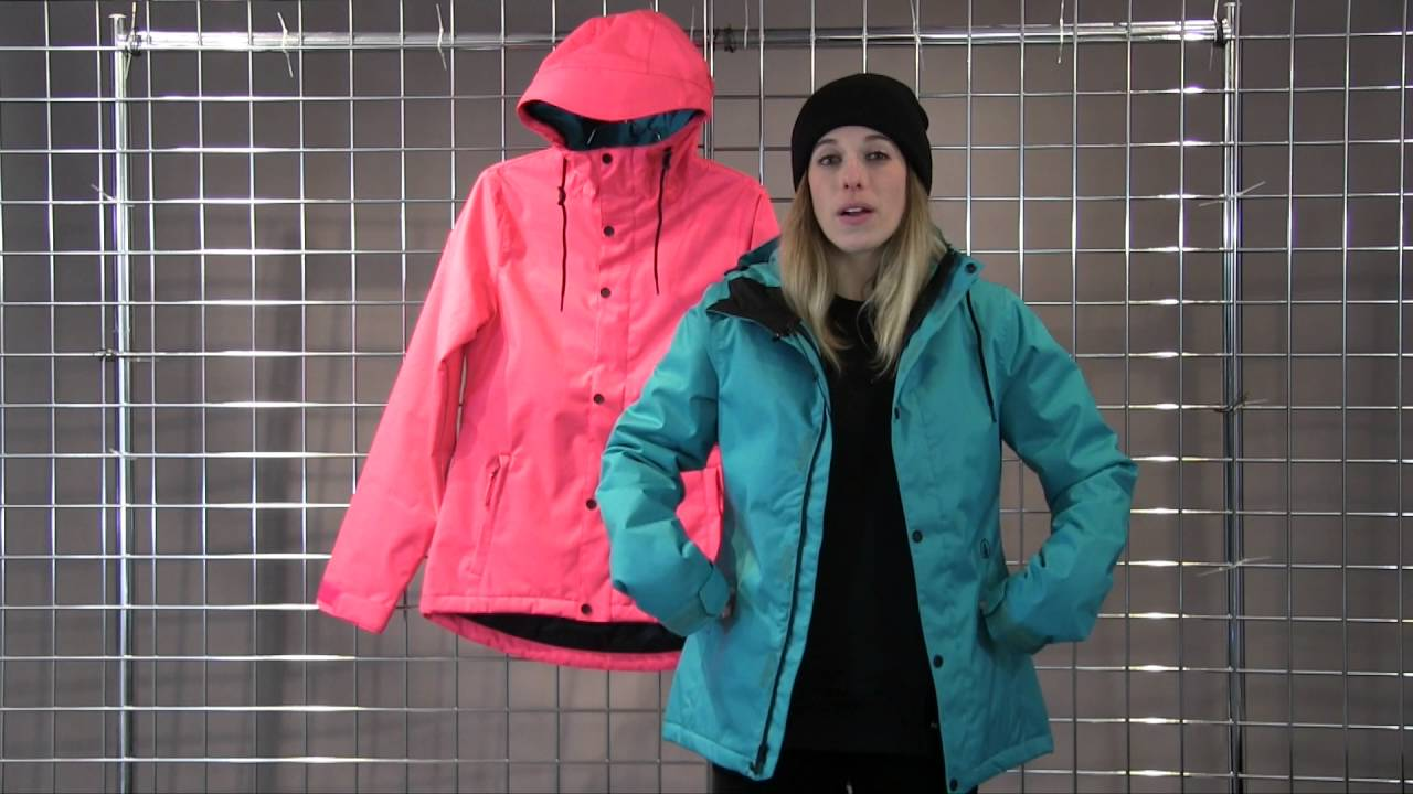 Volcom bolt ins snowboard jacket womens 2016