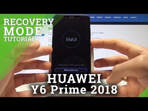 Recovery Mode HUAWEI Y6 Prime 2018 - HardReset info