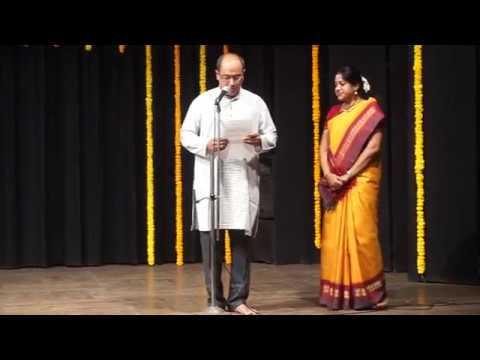 Felicitations to Guru &Music Artists at Arangetram Annanyaa Chakrapani Mumbai