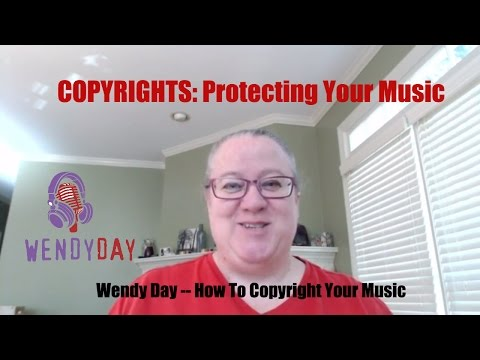 Copyrights | Wendy Day Speaks About Protecting Your Music