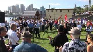 Sydney Ferries Protest - Balmain
