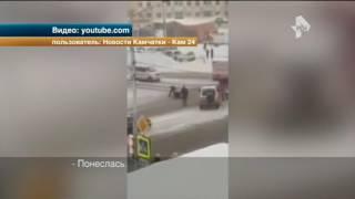 Неадекватный регулировщик взбесил водителей на Камчатке