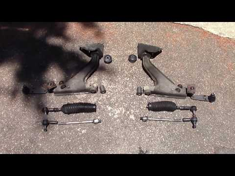 Rotules direction suspension   Steering components rebuild