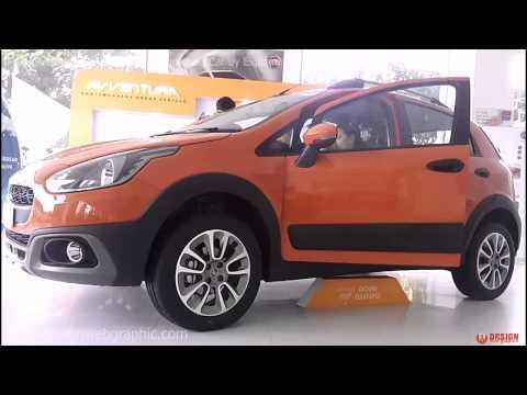 Fiat Avventura SUV Car Launched in India Fiat Showroom Ahmedabad Sales Rep Marketing Avventura Car