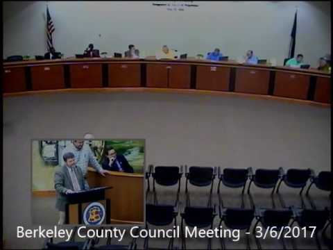 Berkeley County Council Committee Meeting - March 7, 2017