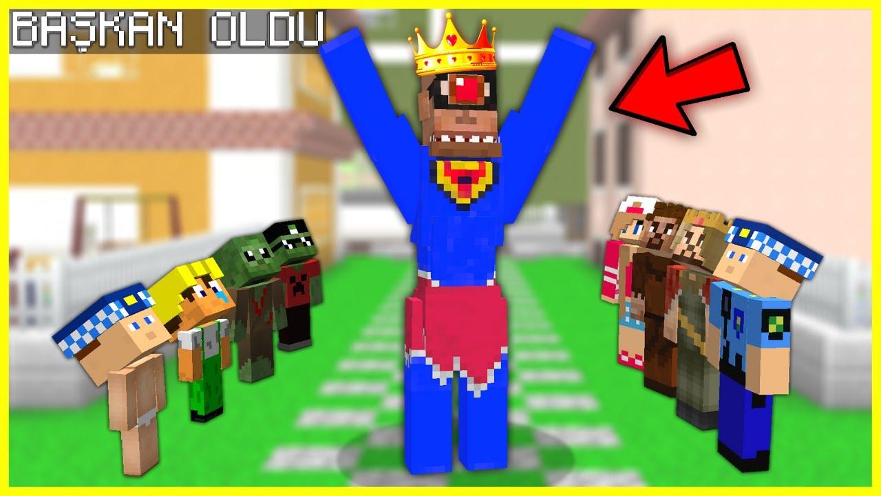 SÜPER TEPEGÖZ ŞEHRİN BAŞKANI OLDU! 😂 - Minecraft