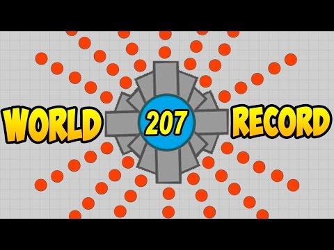 Diep.io | WORLD RECORD +200 KILL (МИРОВОЙ РЕКОРД DIEP +200 КИЛЛОВ)