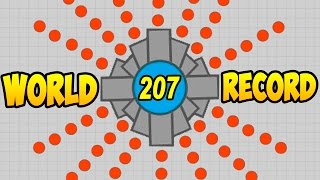 Diep.io | WORLD RECORD +200 KILL (МИРОВОЙ РЕКОРД DIEP +200 КИЛЛОВ)