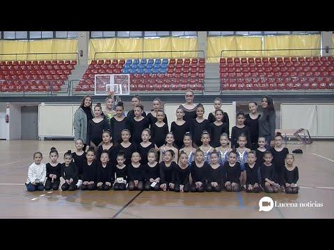 VÍDEO: El club de gimnasia rítmica Ritmiluc se presenta en sociedad con una exhibición