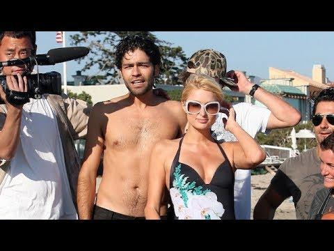 Paris Flirts Hard with Adrian Grenier!  2007