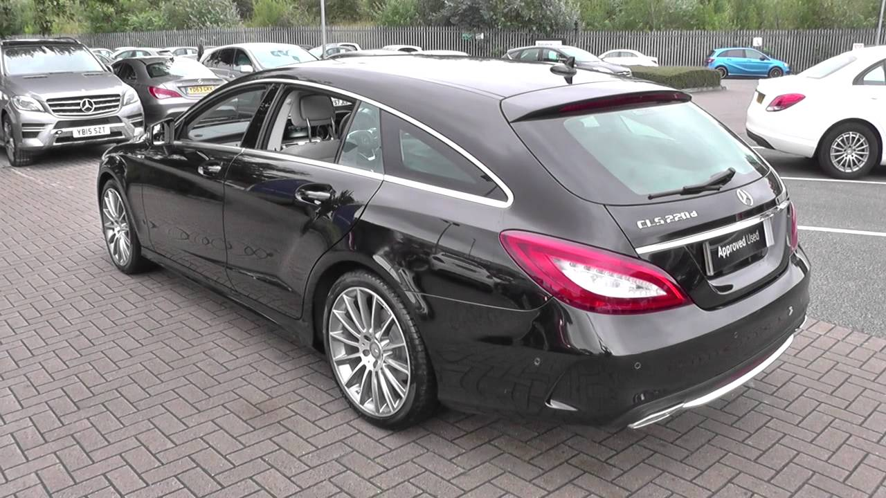 mercedes benz cls shooting brake cls 220 bluetec amg line u23908 youtube. Black Bedroom Furniture Sets. Home Design Ideas