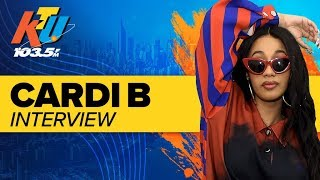 Cardi B Told Offset She Was Pregnant Over FaceTime | Interview