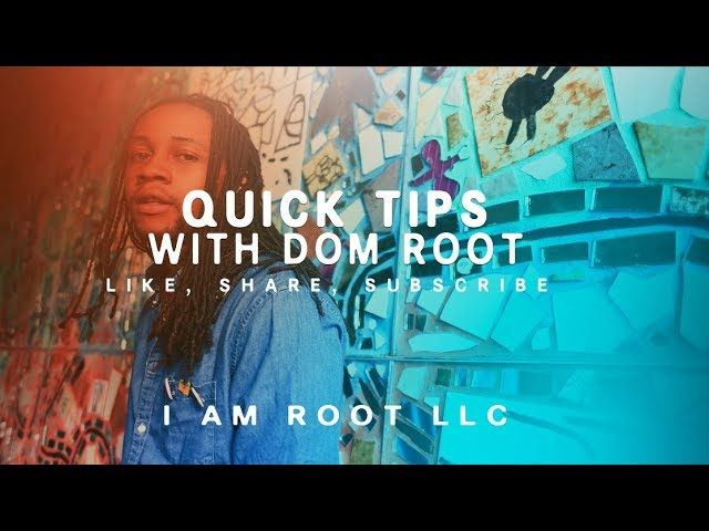 #TBT Quick Tips w/ Dom Root: Helping creatives with productivity