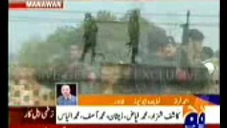 Pakistani commandos shouting Allah hu Akbar ( Allah is the greatest of all) after killing terrorists
