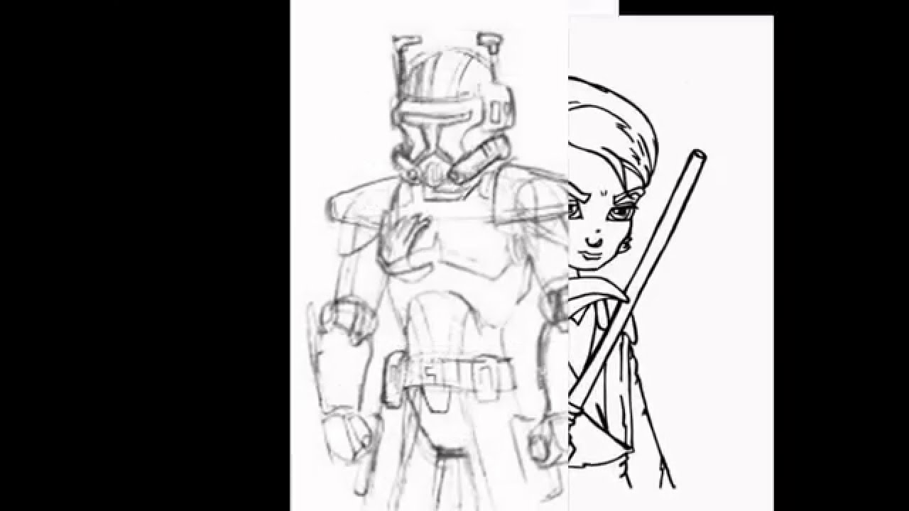 Star Wars The Clone Wars Coloring Pages to Print -123greetingsquotes ...